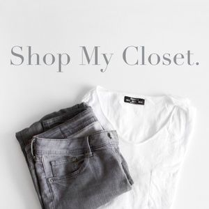 Other - WELCOME TO MY CLOSET❤️❤️❤️